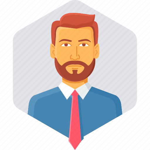 employee, male, man, manager, person, user, worker icon