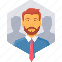 business, buyer, customer, man, profile, user, users icon
