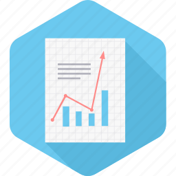 chart, document, documents, file, paper, report, statistics icon