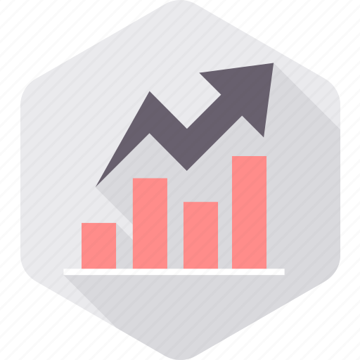 analysis, analytics, chart, diagram, growth, lines, report icon