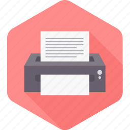 page, paper, print, printer, printing, sheet, text icon