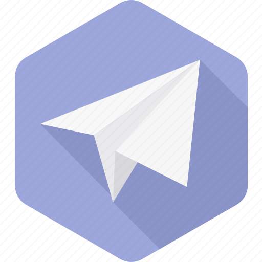 Paper plane, plane, post, send, airplane, communication, message icon - Download on Iconfinder