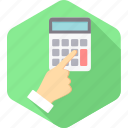 accounting, calc, calculate, calculating, calculation, calculator, mathematics icon