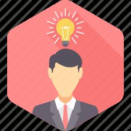 business, creative, creativity, idea, innovation, thinking, thought icon