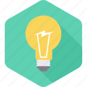 bulb, electric, electricity, lamp, light, lightbulb, power icon