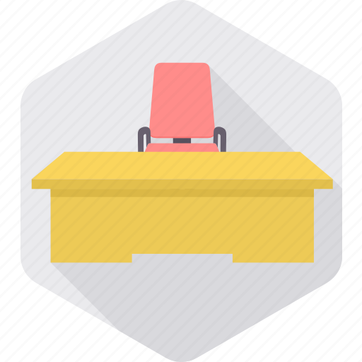 business, cabin, desk, office, seat, shop, work icon