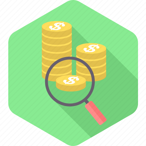 Find, money, revenue, search, business, cash, currency icon - Download on Iconfinder