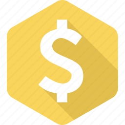 bank, cash, currency, dollar, finance, money, sign icon