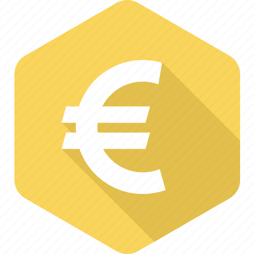 bank, currency, euro, europe, exchange, finance, sign icon