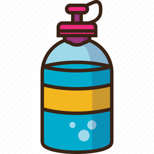 bottle, camping, drink, trekking, water icon