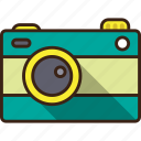 camera, camping, image, photo, photography, trekking icon