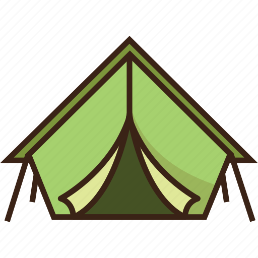camping, tent, travel, trekking, vacation icon