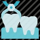 dentist, forceps, removal, teeth icon