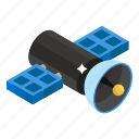 broadcasting, antenna, connection, satellite, technology equipment, satellite dish icon