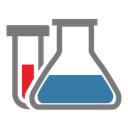 chemical reaction, chemistry, flask, chemical, tube, research icon