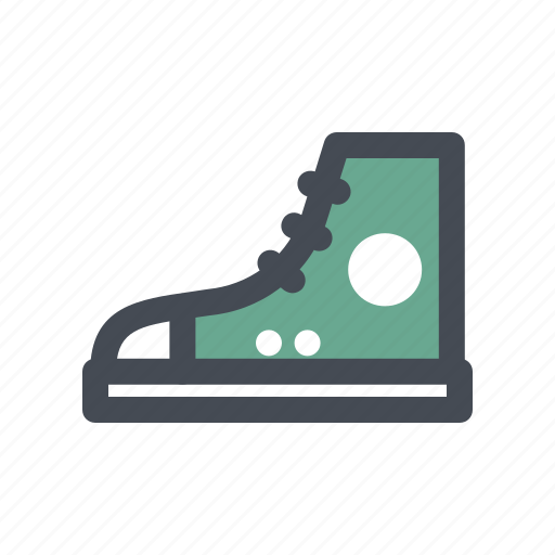 adventure, footwear, gumshoes, hiking, shoes, sneakers, walking icon