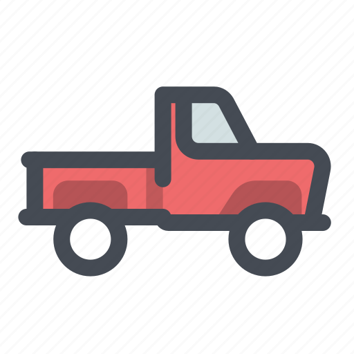 camping, car, ford, lumberjack, pick-up, picnic, truck icon