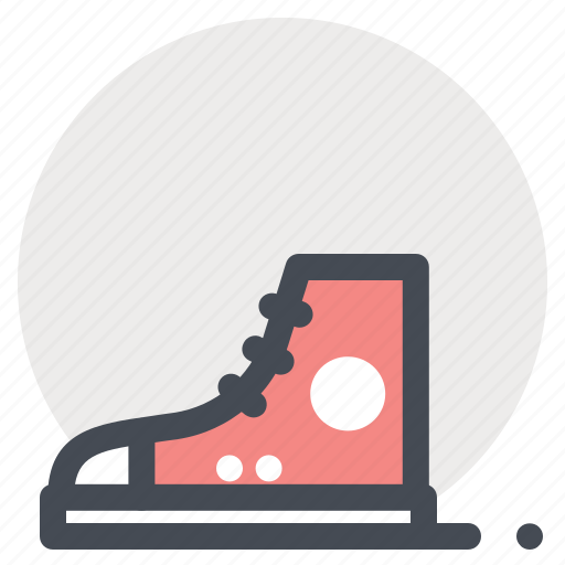 footwear, hiking, outdoor, shoes, sneakers, travel, vacation icon