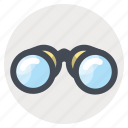 binoculars, find, hiking, search, travel, traveling, zoom icon