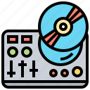 dj, equalizer, instrument, jockey, mixer