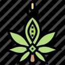 addiction, drug, hemp, marijuana, weed icon