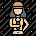 artist, show, singer, singing, vocalist icon