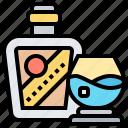 alcohol, beverage, brandy, liquor, whiskey icon