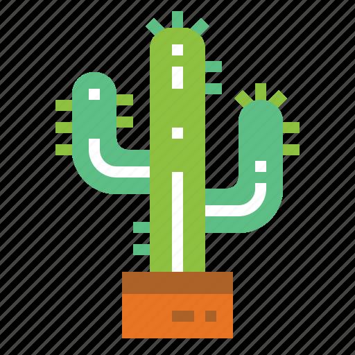 cactus, desert, nature, west icon