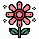 flower, garden, hippie, nature icon
