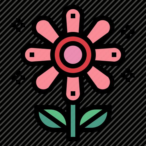 flower, garden, hippie, nature icon