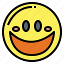 emoticon, face, happy, smiley icon