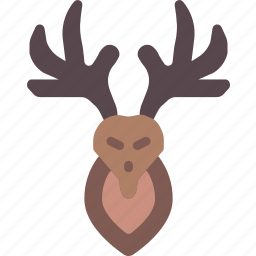 deer, hipster, style, tattoo icon