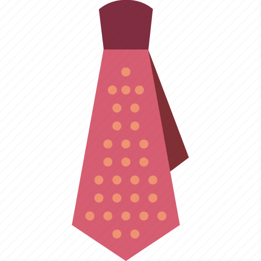 accessory, clothing, dotted, hipster, style, tie icon
