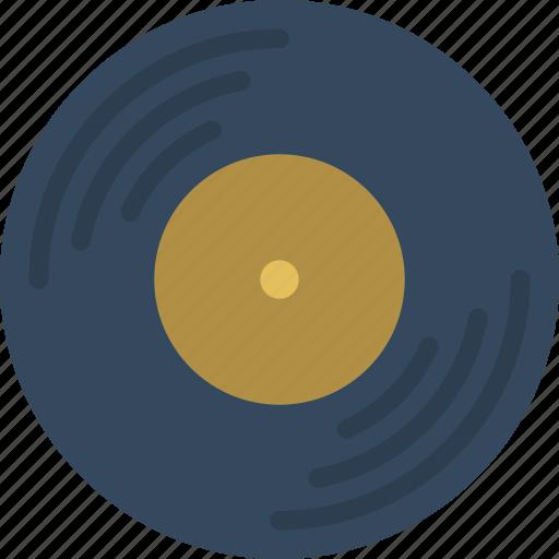 hipster, record, retro, style, vintage, vinyl icon