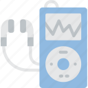 hipster, ipod, mp3, music, retro, vintage icon