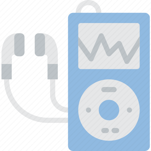 hipster, ipod, mp3, music, retro, vintage icon