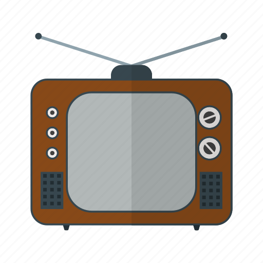 entertainment, old, screen, set, television, tube, tv icon