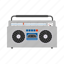 casette, music, party, player, sound, stereo, tape icon