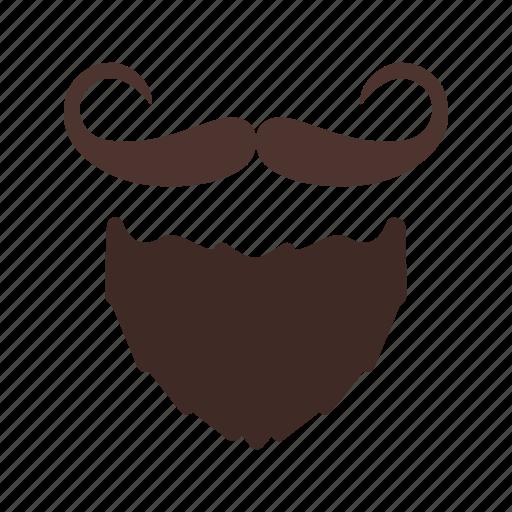 beard, face, hair, man, moustache, mustache icon