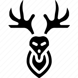 deer, hipster, retro, style, tattoo, vintage icon
