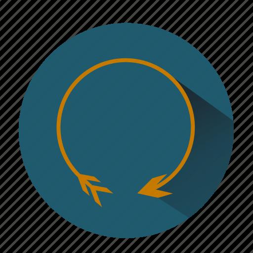 again, load, loop, refresh, reload, restart, shape icon