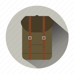 back bag, backpack, bag, briefcase, hipster bag, rucksack, suitcase icon