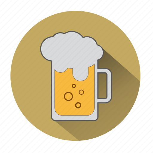 alcohol, beer, beverage, drink, glass, pint, pint of beer icon