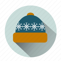 bonnet, cap, cold, hat, hipster hat, ice, snow hat icon