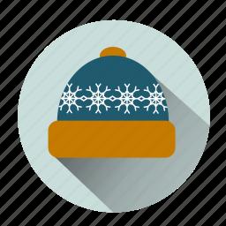 bonnet, cap, cold, hat, hipster hat, ice, snow hat icon