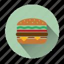burger, cheeseburger, fast food, food, hamburger, meal, restaurant
