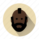 avatar, beard man, character, famous, man, mister t, profile icon