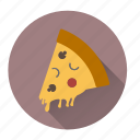 fast-food, italian, junk-food, pizza, pizza-slice, restaurant, yummy icon