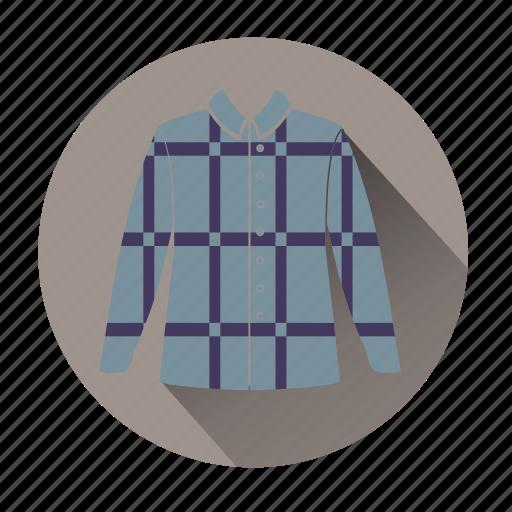 clothe, fashion, hipster, retro, shirt, striped shirt, vintage clothe icon