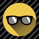 glasses, hipster, sun, sunglasses, creative, day, sunny